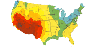 solar usage map of us